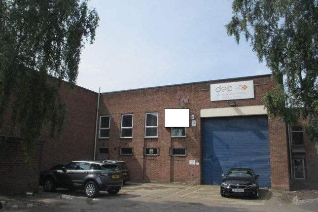Thumbnail Light industrial to let in Cranmer Road, West Meadows Industrial Estate, Derby