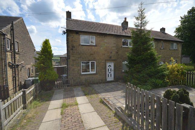 Thumbnail Semi-detached house for sale in Longlands Avenue, Slaithwaite, Huddersfield