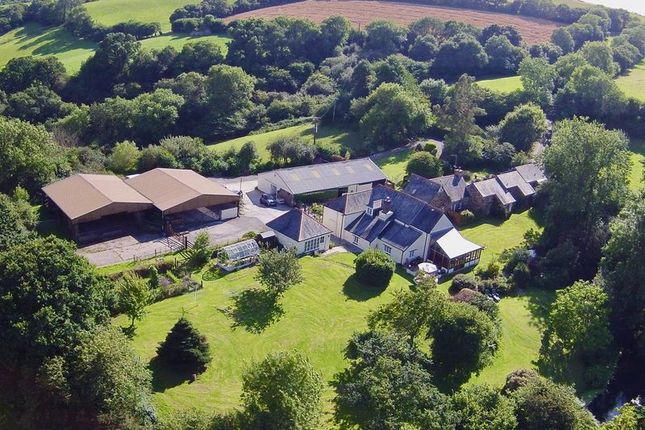 Thumbnail Farmhouse for sale in Pillaton, Cornwall