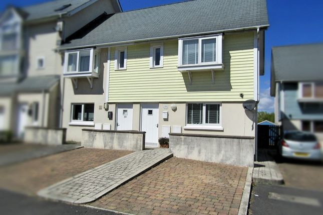 Thumbnail End terrace house for sale in Pentre Nicklaus Village, Llanelli, Carmarthenshire.