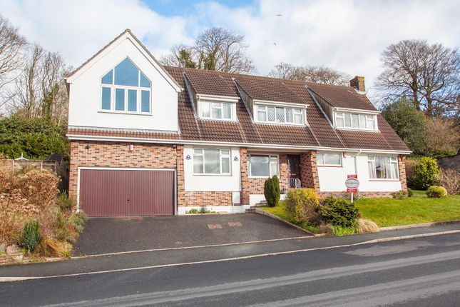 Thumbnail Detached house for sale in Powisland Drive, Crownhill, Plymouth