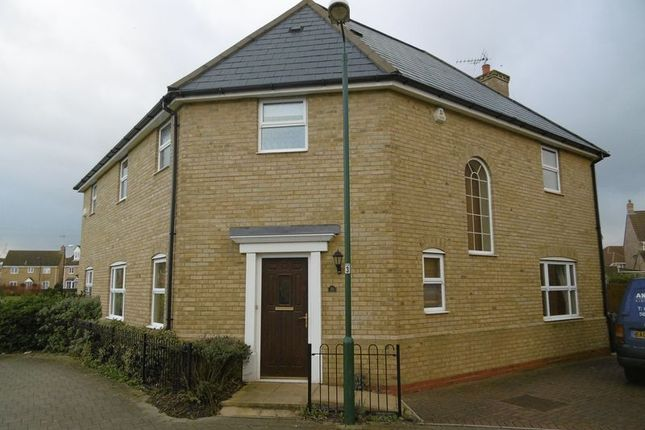 Thumbnail Detached house to rent in Fleming Court, Woodston, Peterborough
