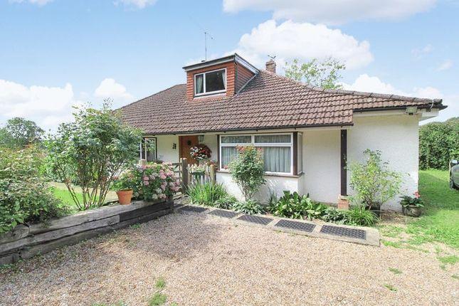 Thumbnail Detached bungalow for sale in Hever Road, Bough Beech, Edenbridge