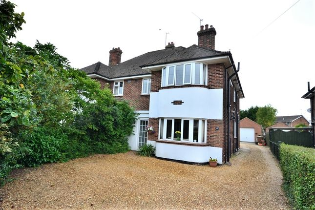 Thumbnail Semi-detached house for sale in Driftway, Wootton Road, South Wootton, King's Lynn