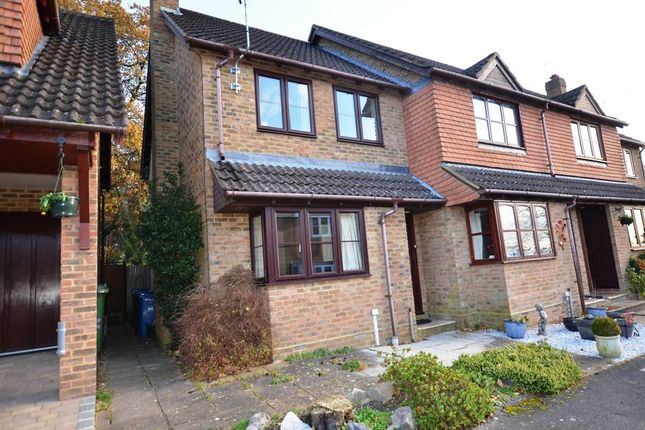 Thumbnail End terrace house to rent in Cannon Close, College Town, Sandhurst
