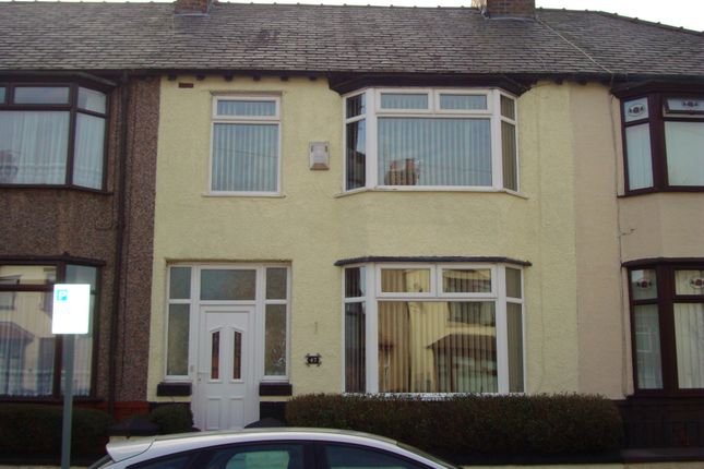 Thumbnail Terraced house to rent in Lynholme Road, Liverpool