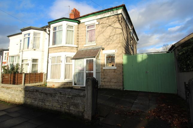 Thumbnail Semi-detached house for sale in Ollerton Avenue, Old Trafford, Manchester