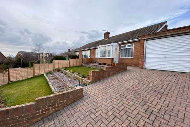 Thumbnail Semi-detached bungalow for sale in St. Margarets Way, Brotton, Saltburn-By-The-Sea