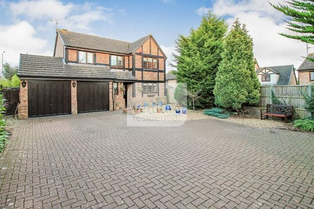 Thumbnail Detached house for sale in Milburn Close, Luton