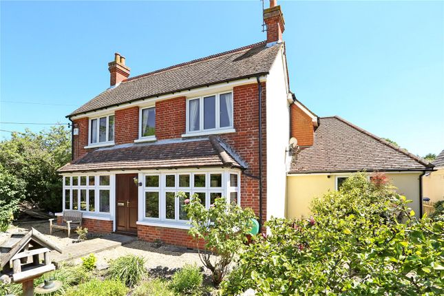 Thumbnail Detached house for sale in Chequers Lane, Eversley, Hook, Hampshire
