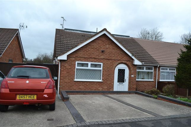 Thumbnail Semi-detached bungalow for sale in Robert Road, Exhall, Coventry, Warwickshire