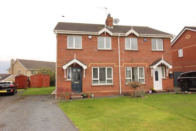 Thumbnail Semi-detached house for sale in Arindale, Maghaberry
