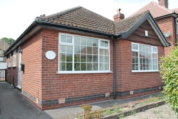Thumbnail Bungalow to rent in Greenwich Avenue, Nottingham