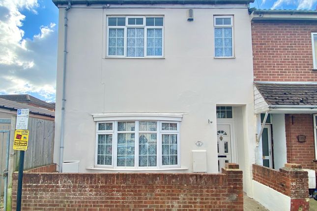 Thumbnail End terrace house for sale in Graham Road, Newtown, Southampton
