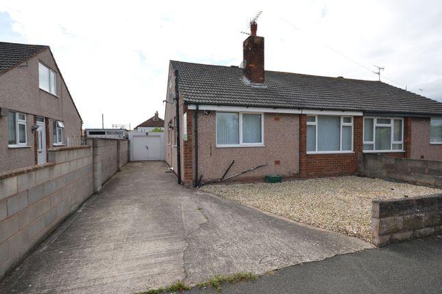 Thumbnail Semi-detached bungalow for sale in Trellewelyn Road, Rhyl