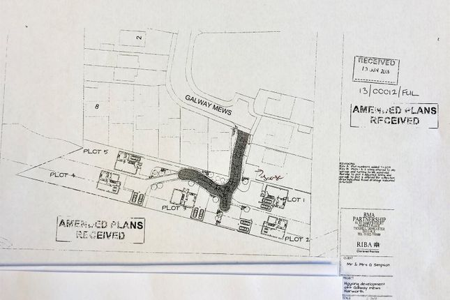 Thumbnail Land for sale in Galway Mews, Harworth, Doncaster