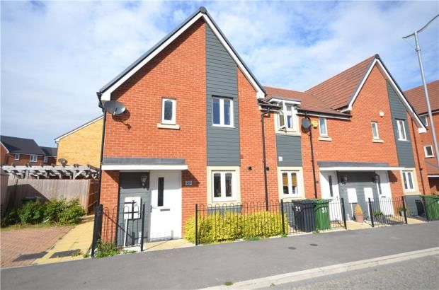 Thumbnail End terrace house for sale in Trinity Way, Basingstoke, Hampshire