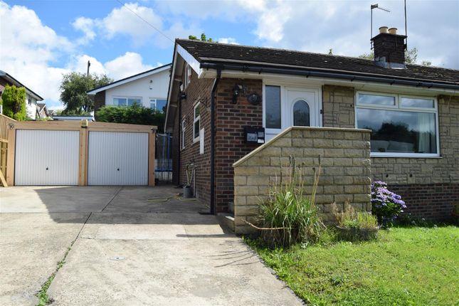 Thumbnail Semi-detached bungalow for sale in Brow Lane, Shelf, Halifax