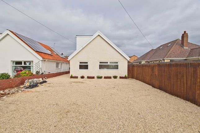 Thumbnail Detached bungalow for sale in West Road, Nottage, Porthcawl