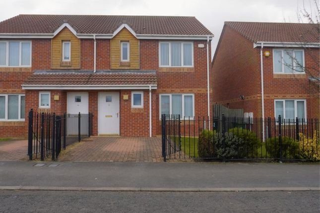 Semi-detached house for sale in Dunblane Crescent, West Denton, Newcastle Upon Tyne