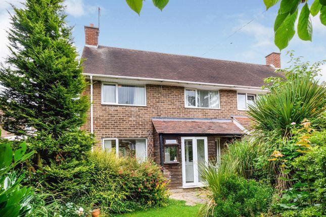Thumbnail Semi-detached house for sale in Oakthorpe Drive, Kingshurst, Birmingham
