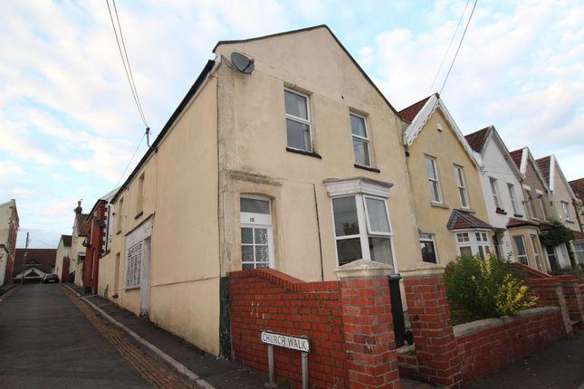 Thumbnail Flat to rent in Heywood Terrace, Pill, Bristol