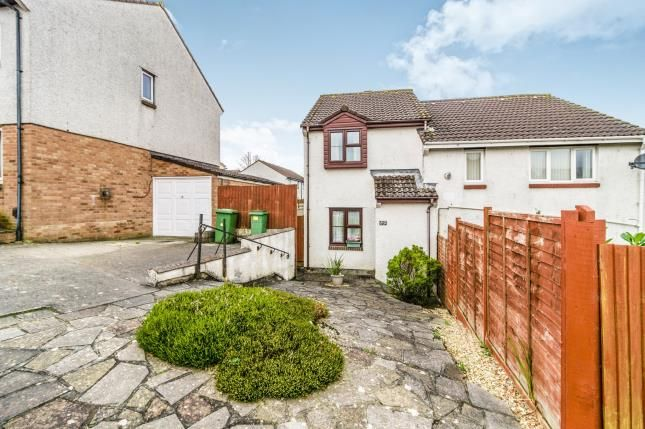 Thumbnail Semi-detached house for sale in Staddiscombe, Plymstock, Devon