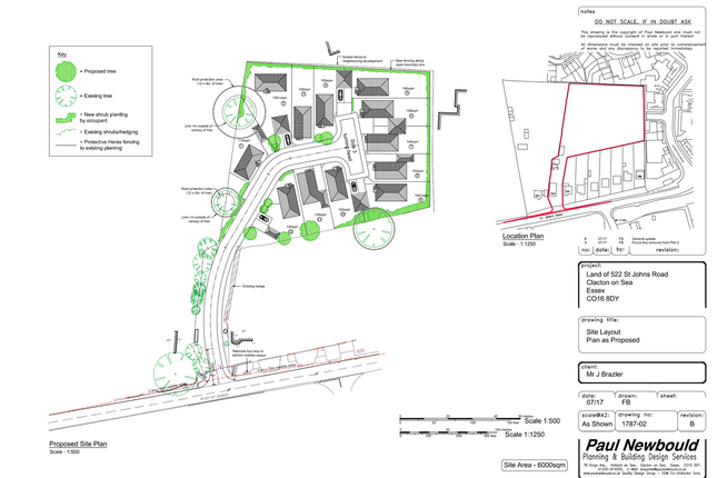 Thumbnail Land for sale in St Johns Road, Clacton-On-Sea