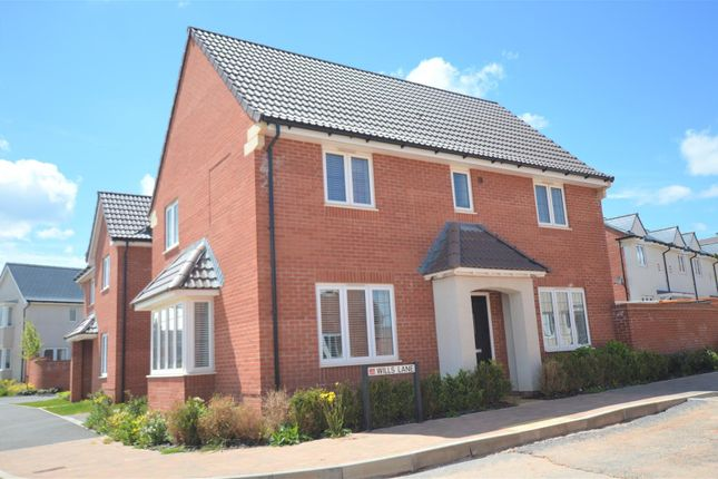 Thumbnail Detached house for sale in Wills Lane, Exeter