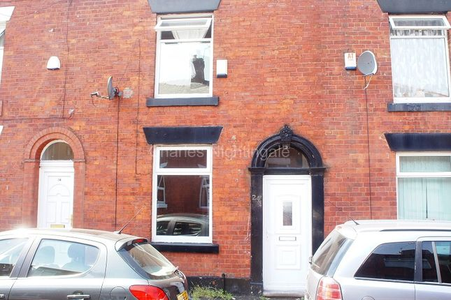 Thumbnail Terraced house to rent in Hollinhall Street, Oldham, Greater Manchester.