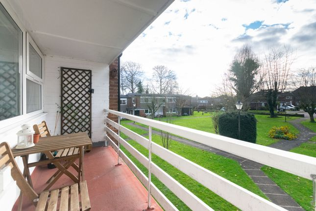Balcony of North Hill Close, Roundhay, Leeds LS8