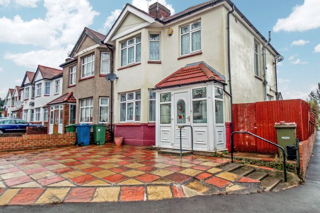 Thumbnail End terrace house to rent in Village Way, Pinner