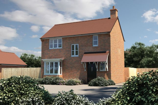 "Thumbnail Semi-detached house for sale in ""The Longthorpe"" at Bishopsfield Road, Fareham"