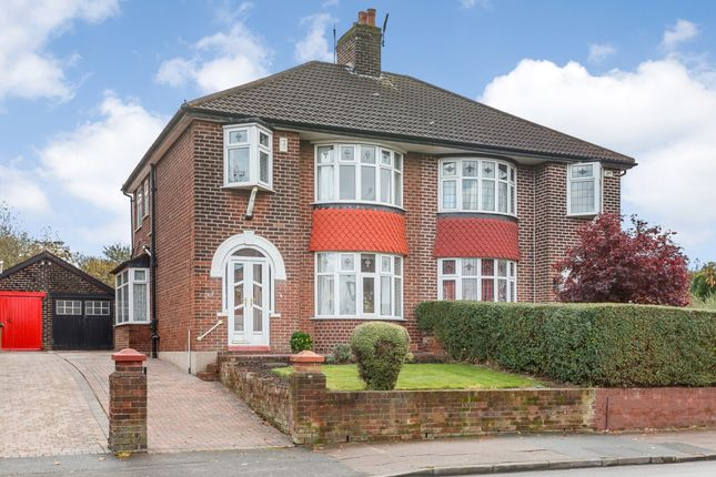 Thumbnail Semi-detached house for sale in Broadstone Road, Stockport, Greater Manchester