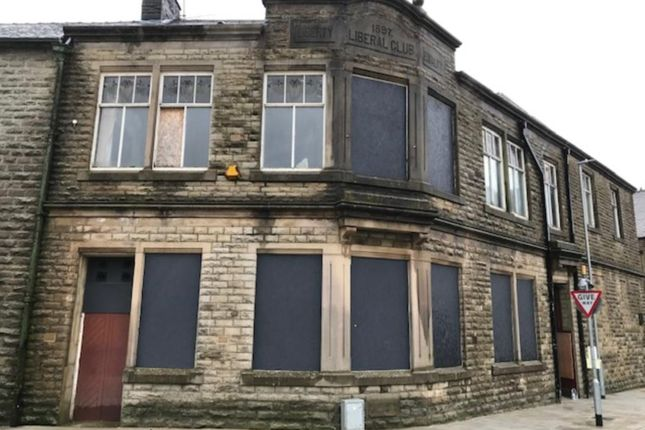 Thumbnail Commercial property for sale in Former Liberal Club, Lord Street, Rawtenstall