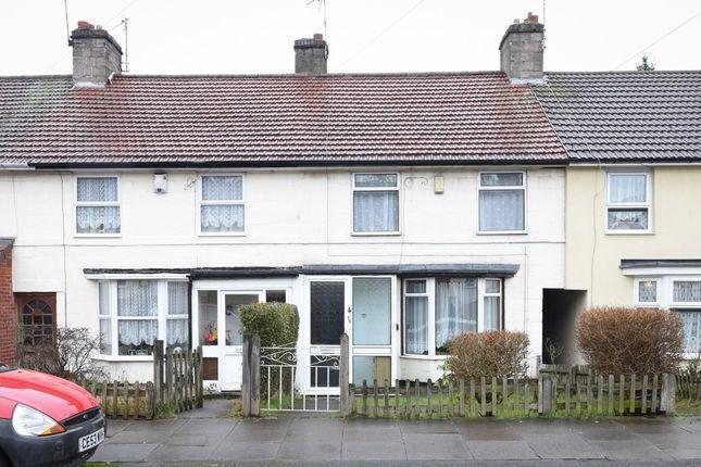 Thumbnail Terraced house for sale in Brookvale Park Road, Erdington, Birmingham