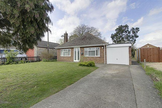 Thumbnail Detached bungalow to rent in West End, Langtoft, Peterborough