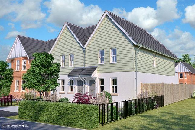 Thumbnail Semi-detached house for sale in The Valders, Linsford Lane, Mytchett