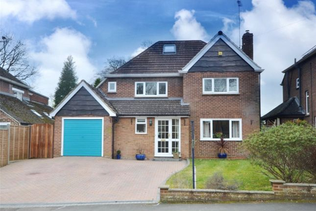 Thumbnail Detached house for sale in Warren Rise, Frimley, Camberley