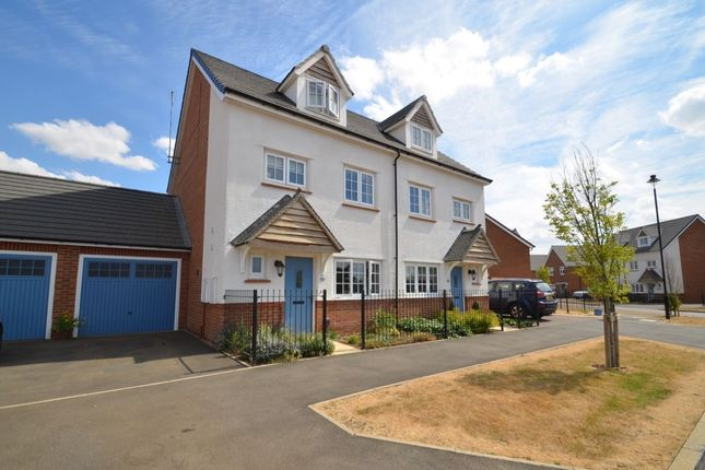Thumbnail Semi-detached house to rent in Manor Road, Barton Seagrave, Kettering