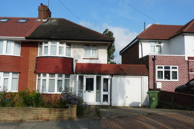 Thumbnail Semi-detached house for sale in West Hill, Wembley