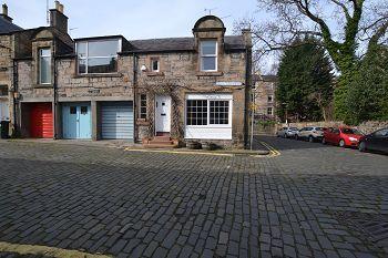 Thumbnail End terrace house to rent in Dean Park Mews, Edinburgh