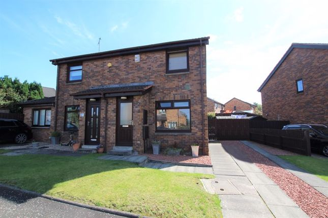 Thumbnail Semi-detached house for sale in Chestnut Grove, Motherwell