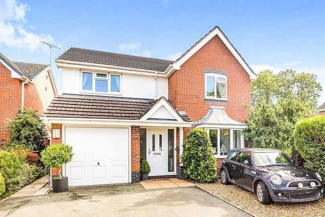 Thumbnail Detached house for sale in Birchwood Drive, Whittington, Oswestry