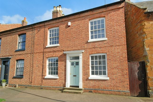 Thumbnail End terrace house for sale in The Green, Hardingstone, Northampton