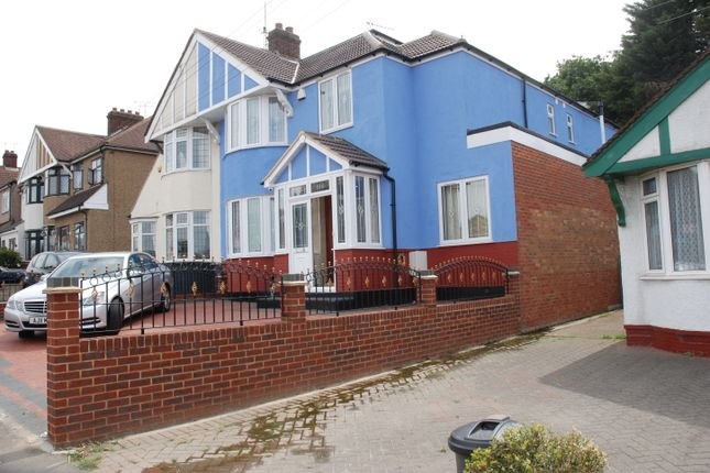 Thumbnail Semi-detached house for sale in Clay Hall Avenue, Ilford