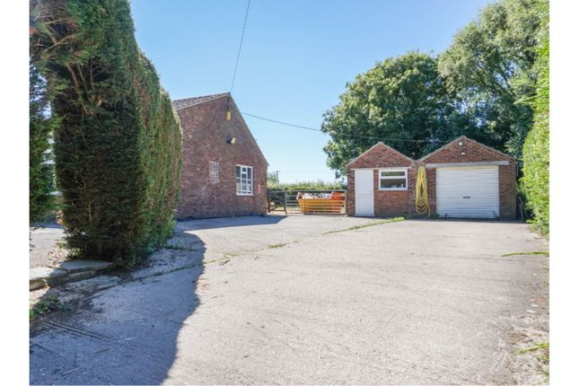 Thumbnail Detached bungalow for sale in Marsh Road, Orby, Skegness