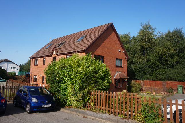 Thumbnail Semi-detached house for sale in St Teilos Close, Pontllanfraith, Blackwood