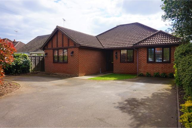 Thumbnail Detached bungalow for sale in Blackberry Road, Colchester