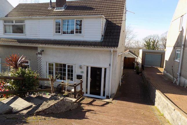 Thumbnail Semi-detached house for sale in Crofton Drive, Baglan, Port Talbot, Neath Port Talbot.